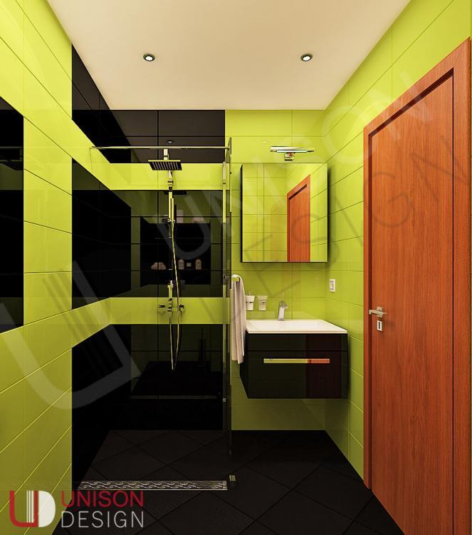 Интериорен дизайн-баня-обзавеждане-баня зелено-баня черно-Unison Design-interioren dizajn-5.jpg