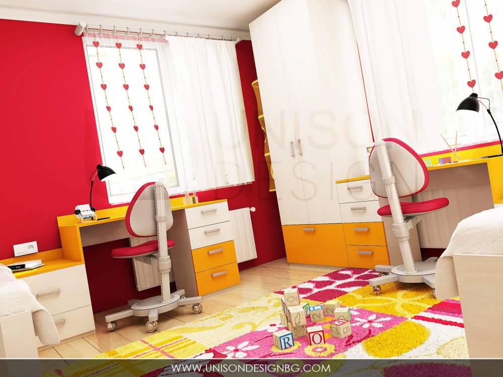 Детска-стая-за-момичета-жълто-малиново-обзавеждане-детско-obzavejdane-интериорен-дизайн-визуализация-detskko-mebeli-porachka-interioren-dizajner-unison-design.jpg