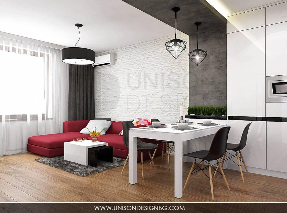 Интериорен-проект-на-апартанет-дневна-трапезария-обзавеждане-декоративна-мазилка-декоративни-камъни-Unison-Design-5.jpg