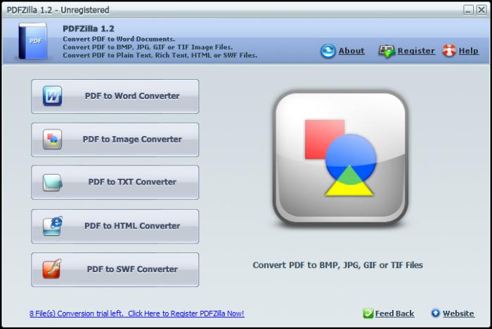 PDFZilla е програма за работа с PDF документи. Ето час