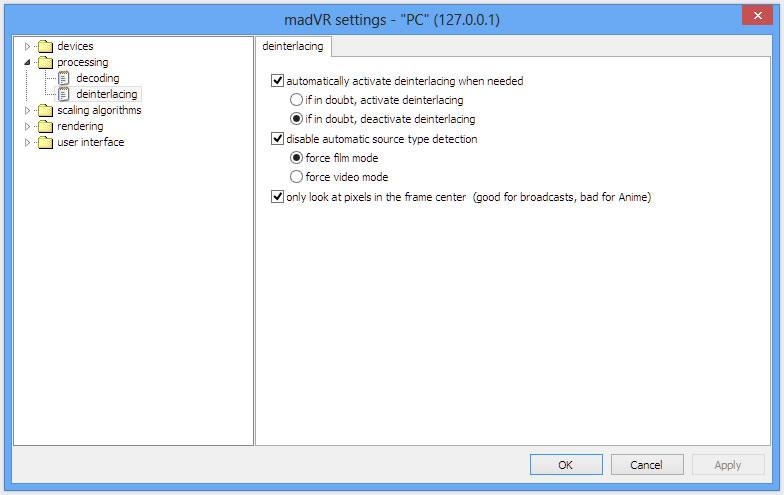 madVR е нова програма за рендиране на висококачествени изображения. С