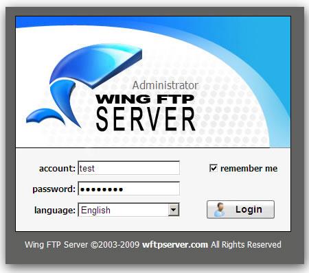 Wing FTP Server е професионална кросплатформена програма – FTP сървър