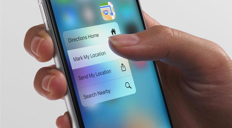 ... сензорите,  използвани в iPhone 6 и iPhone 7
