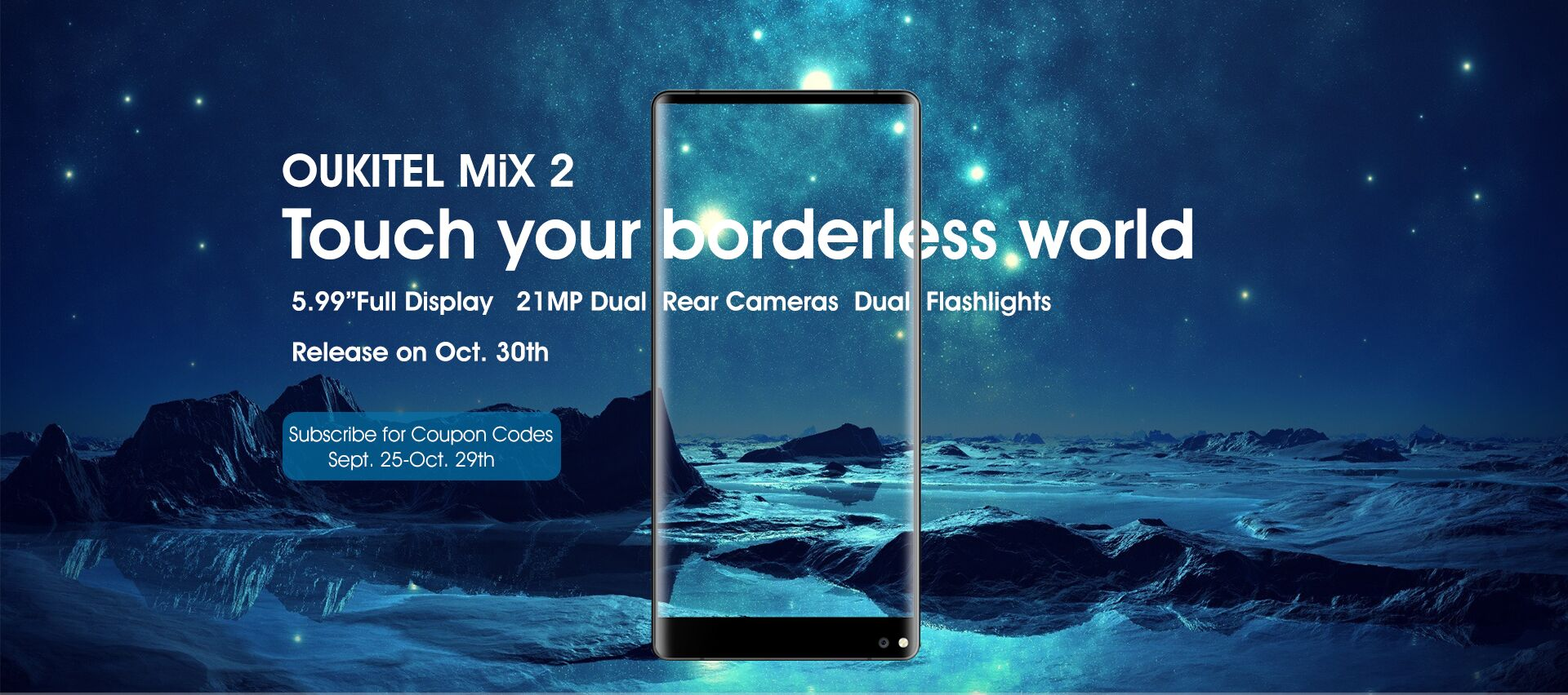Смартфонът OUKITEL Mix 2 бе представен миналата седмица и видяхме,