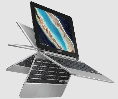 Asus Chromebook Flip C101 е удобен неголям лаптоп, който може