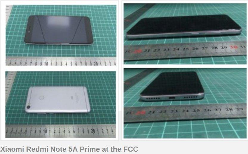Устройство на Xiaomi, подобно на Redmi Note 5A Prime и