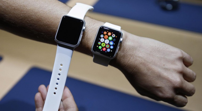 Снимка: Apple патентова самозатягаща се каишка за умните часовници