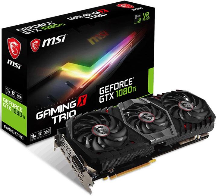 Micro-Star International анонсира появата на видеокартите GeForce GTX 1080 Ti