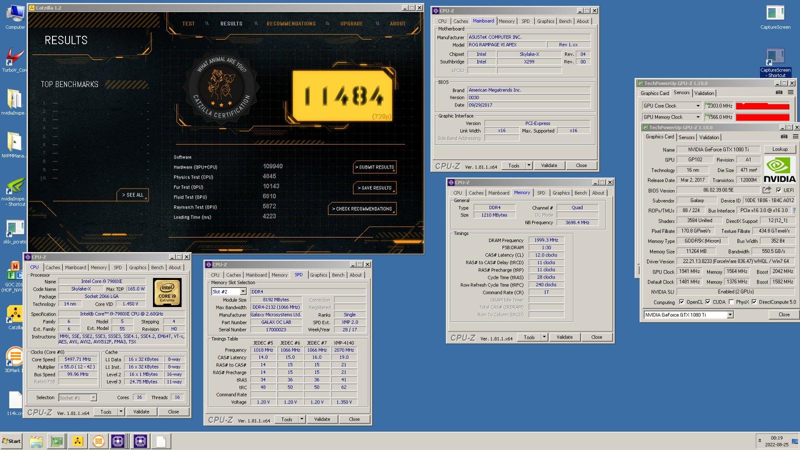 Шведският овърклокър Shami регистрира в базата данни hwbot абсолютен рекорд