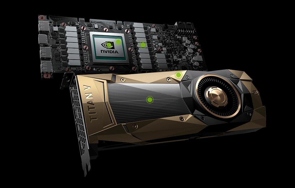 Неотдавна Nvidia представи видеокартата Titan V, базирана на графичен процесор