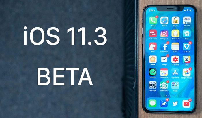 Тази седмица, Apple пусна първата бета версия на iOS 11.3