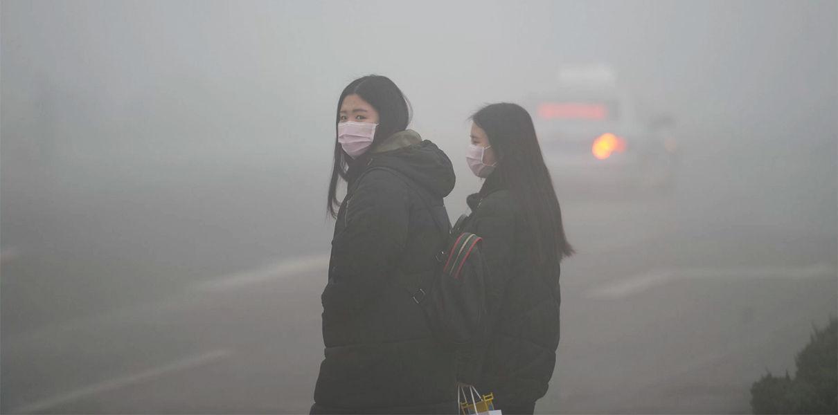 Стометровата кула за пречистване на въздуха в Сиан се счита
