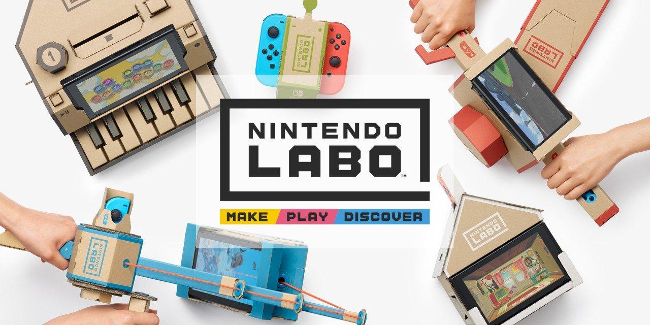 Nintendo изненада всички с анонса на Labo – причудливи картонени