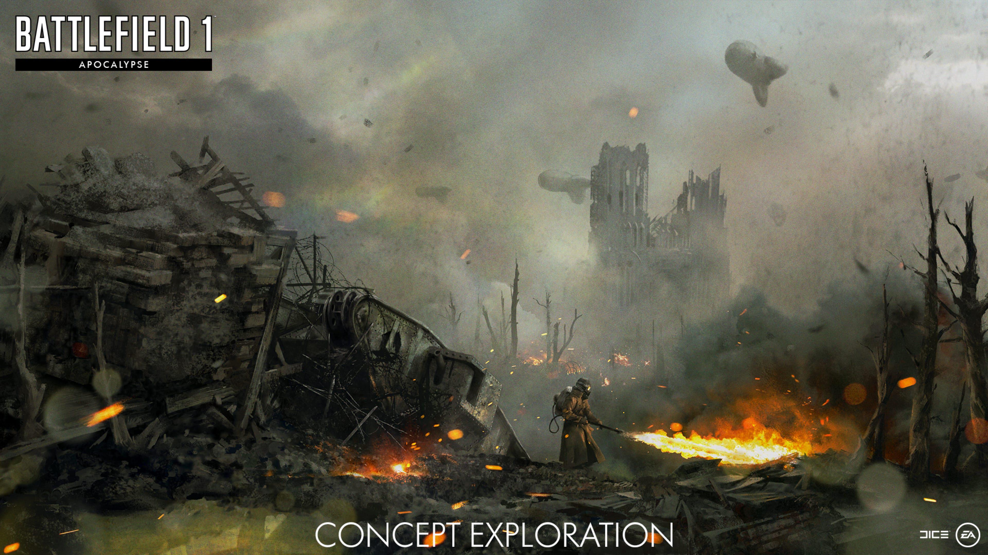 DICE разкри, че следващото допълнение към Battlefield 1, Apocalypse, ще