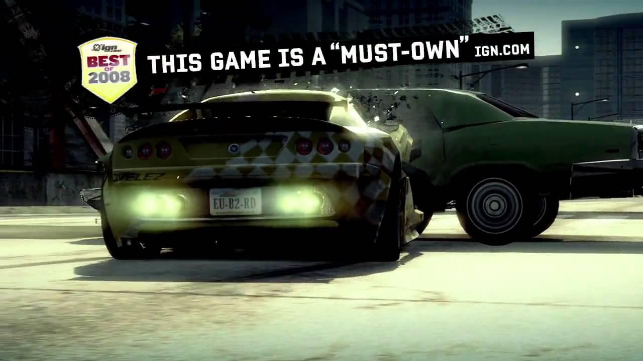 Burnout Paradise, спечелилата огромна популярност на студио Criterion игра с