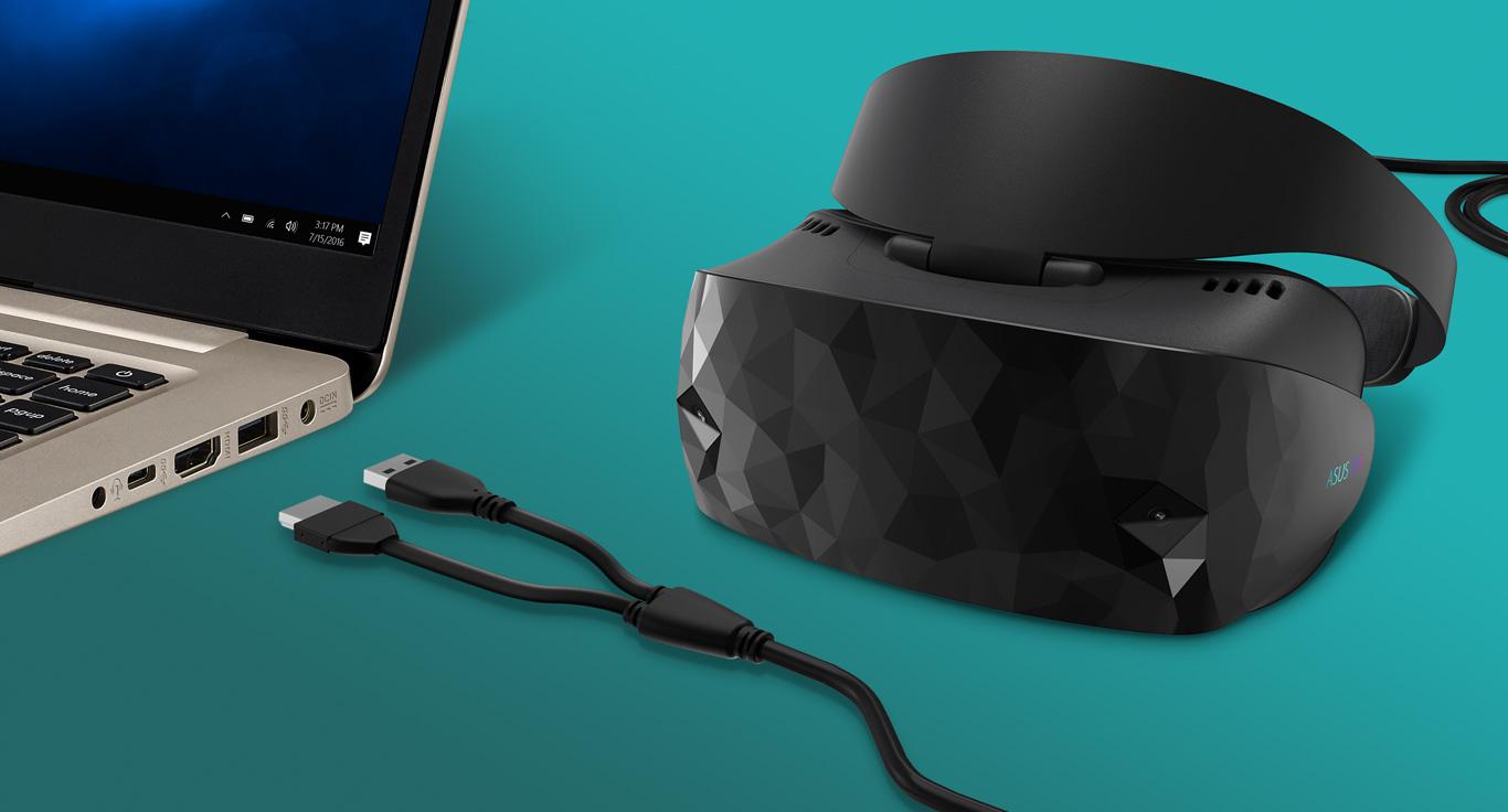 Asus разкри HC102, VR шлем, предназначен за работа с технологията