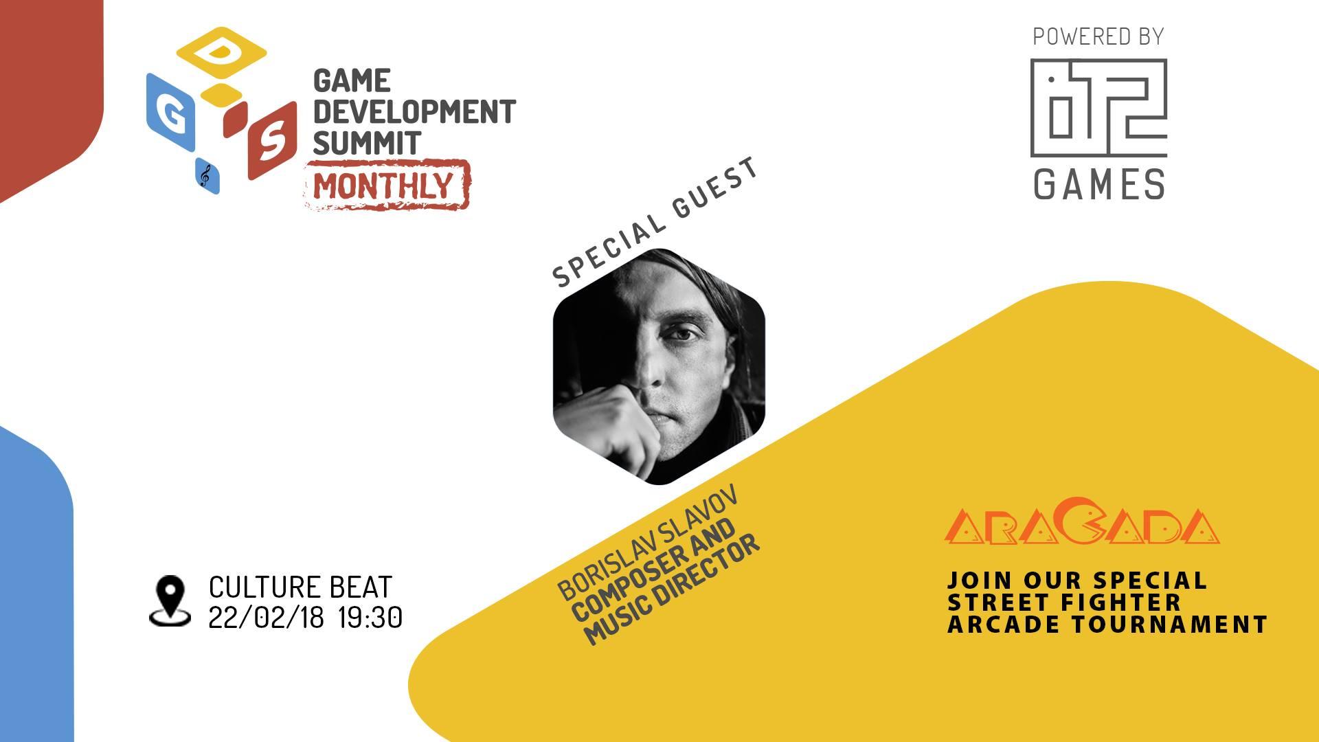 Четвъртото издание на Game Dev Summit Monthly, което се осъществява