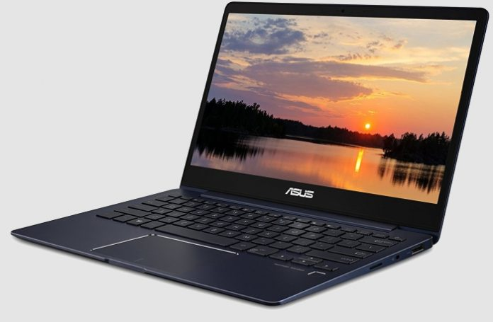 Asus Zenbook 13:     Intel Kaby Lake-R     Nvidia