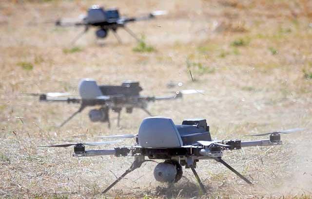 """Специален въоръжен дрон с автономно управление е """"ловил"""" и """"преследвал"""""""