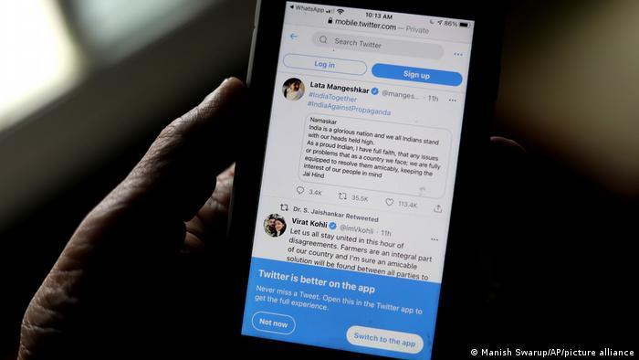 Twitter изрази загриженост относно свободата на изразяване в Индия, дни