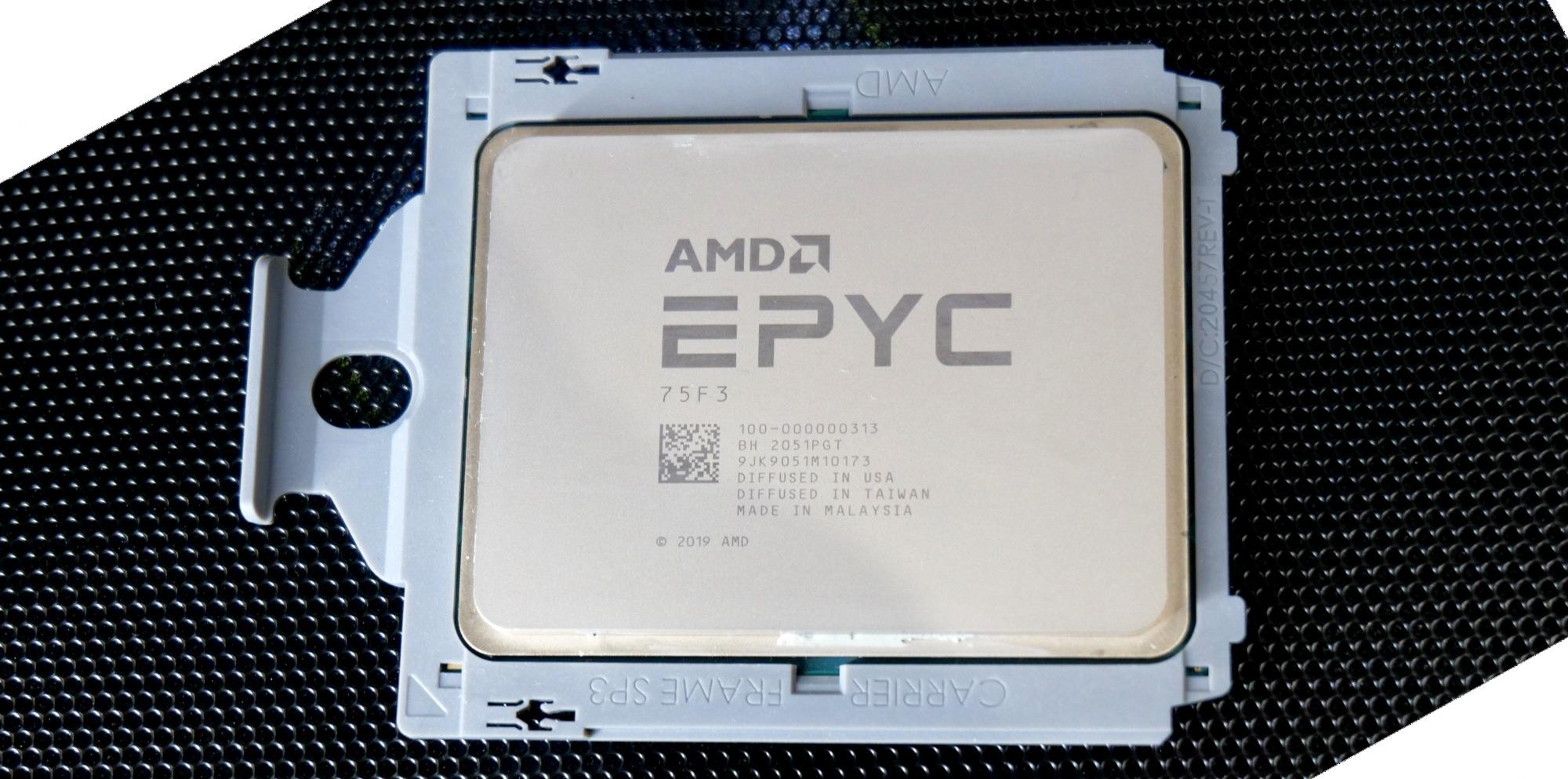 Процесорите EPYC от четвърто поколение ще се използват в бъдещия