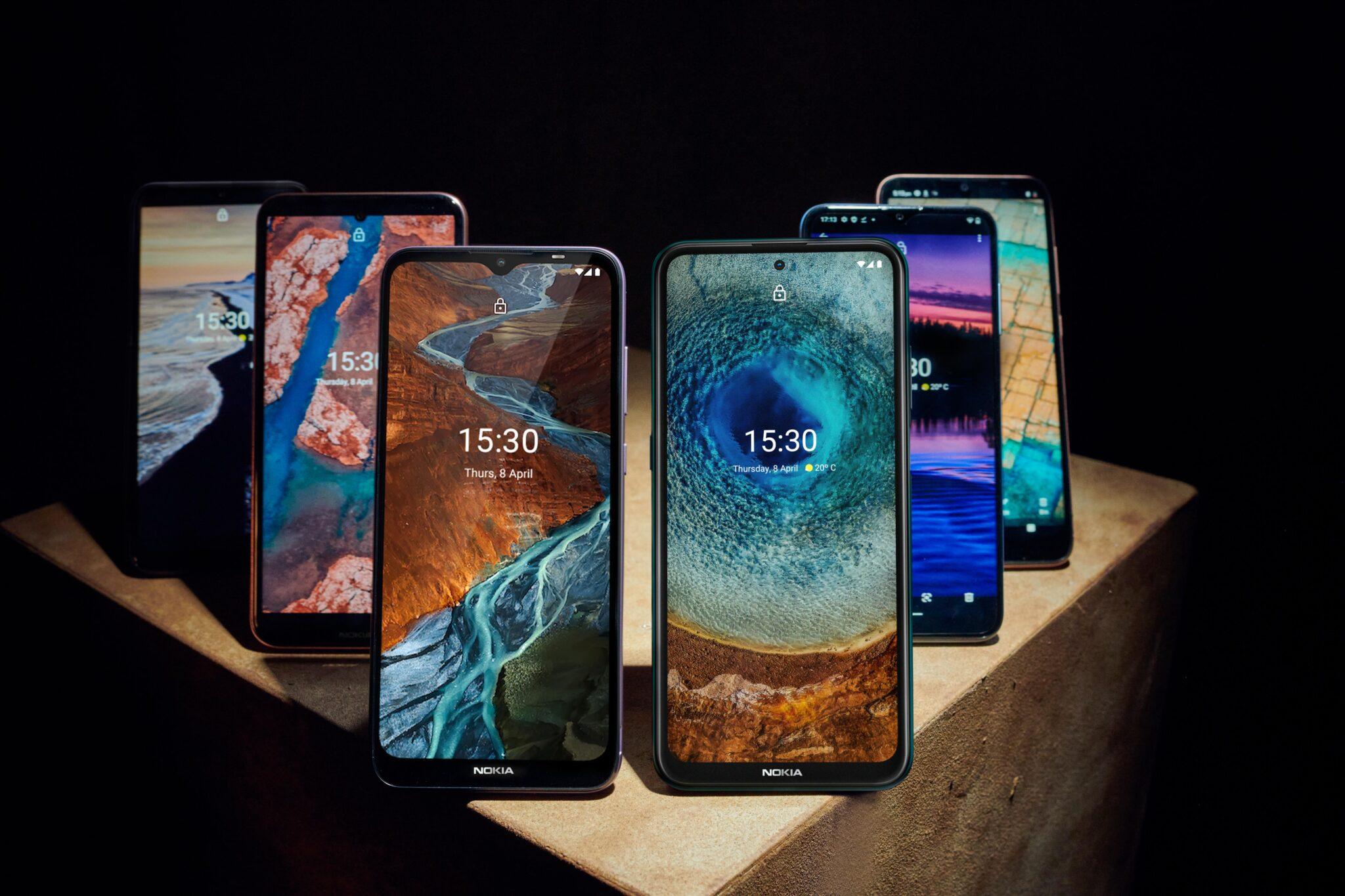 Наскоро HMD Global представи шест нови смартфона накуп, с които