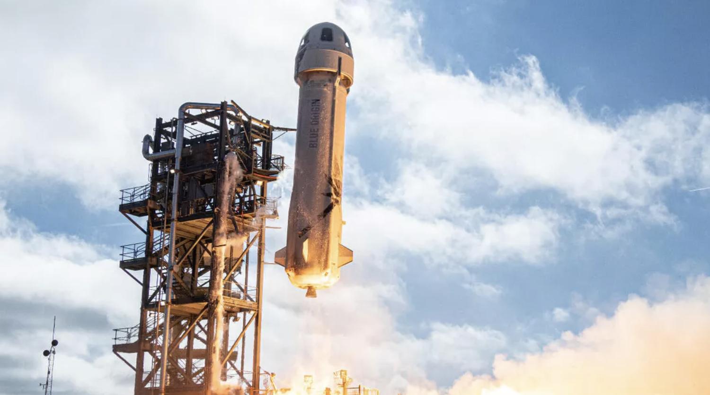 Новата ракета на компанията на Джеф Безос Blue Origin е