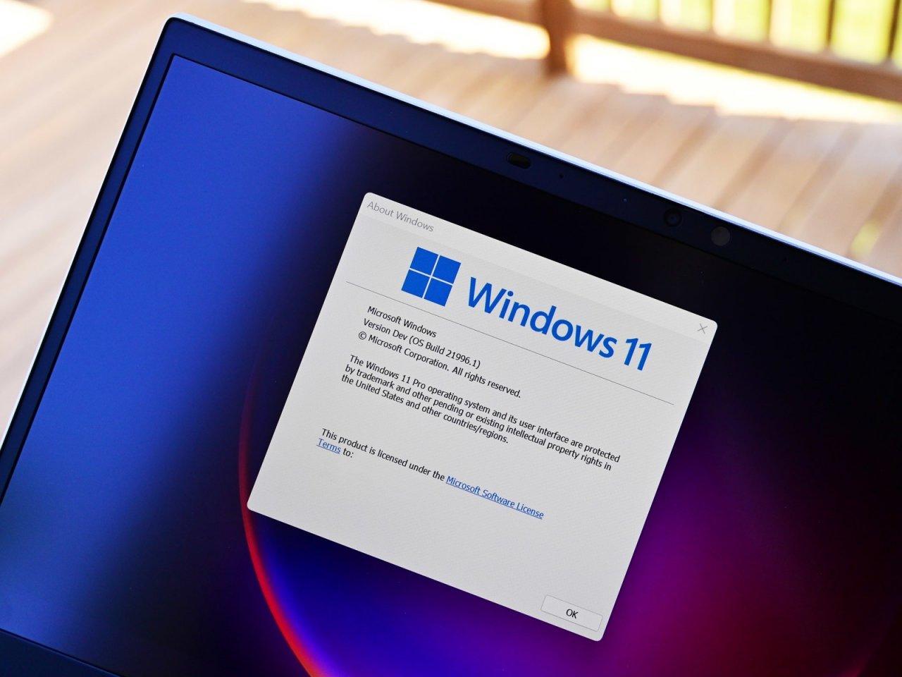 Тази седмица в интернет пространството вътрешна компилация на Windows 11,