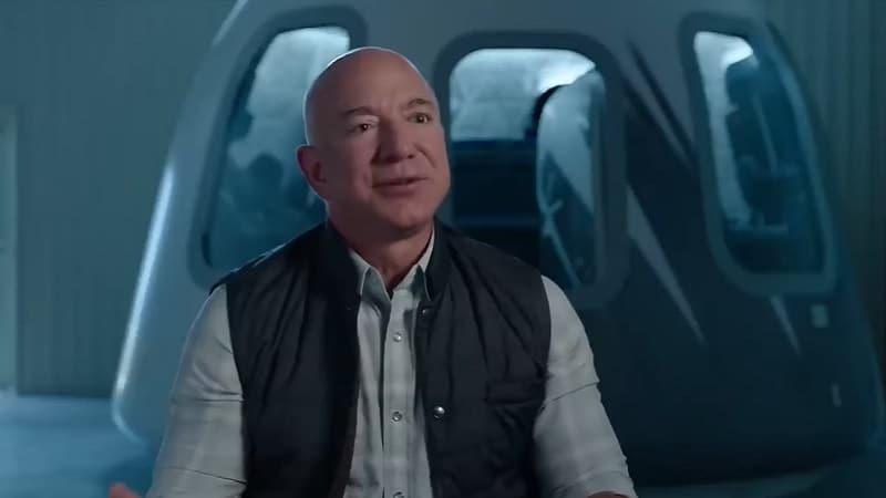 Предстоящият през месец юли на ръководителя на Amazon Джеф Безос
