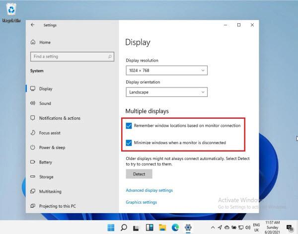 Едно от съществените недоглеждания при предишните версии на Windows, които
