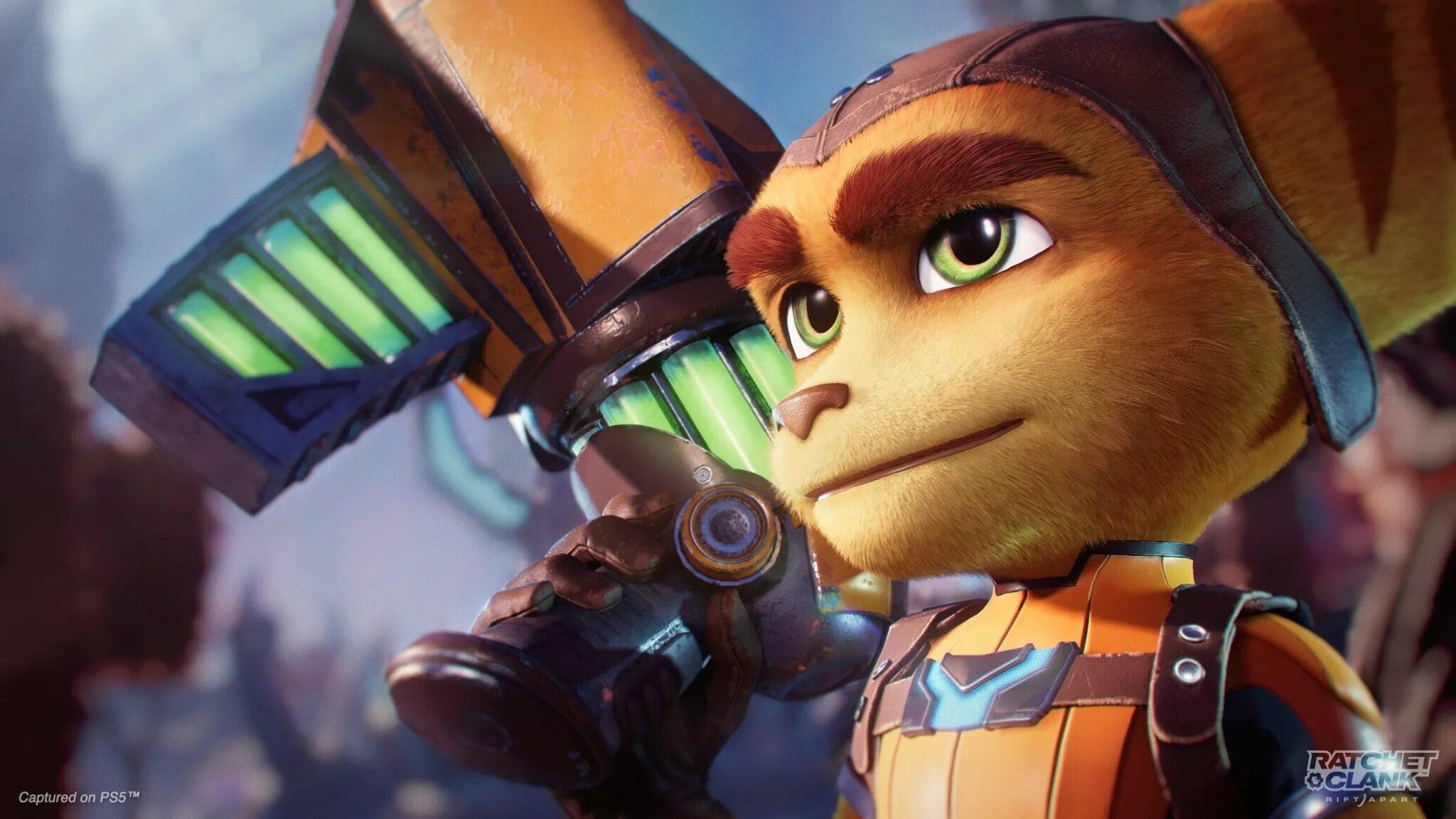 Ratchet & Clank: Rift Apart е първата игра от франчайза