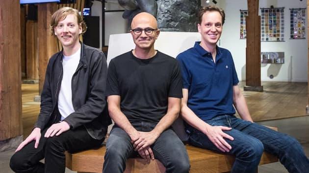 Онлайн услугата GitHub, от Microsoft през 2018 година и анонсираха