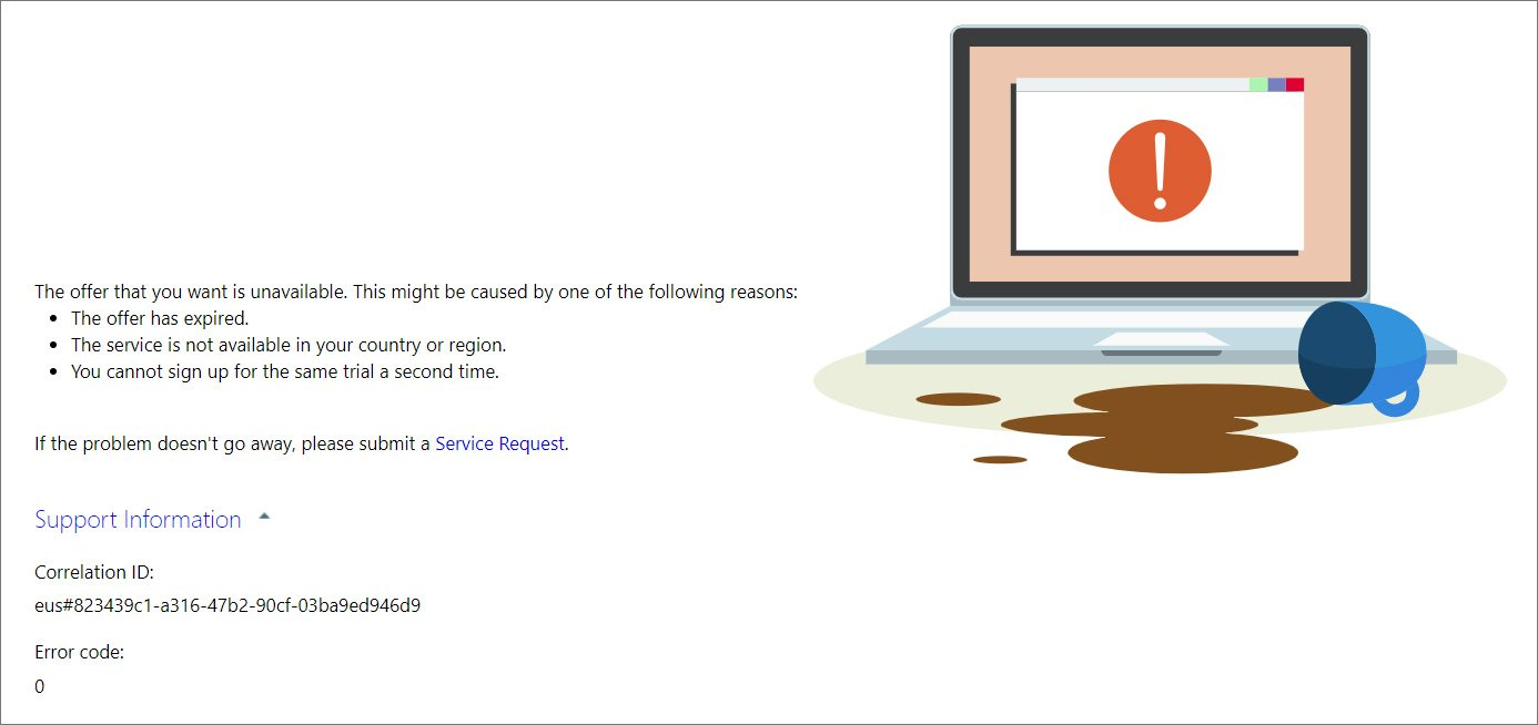Microsoft временно спря да предлага на потенциалните потребители на облачната