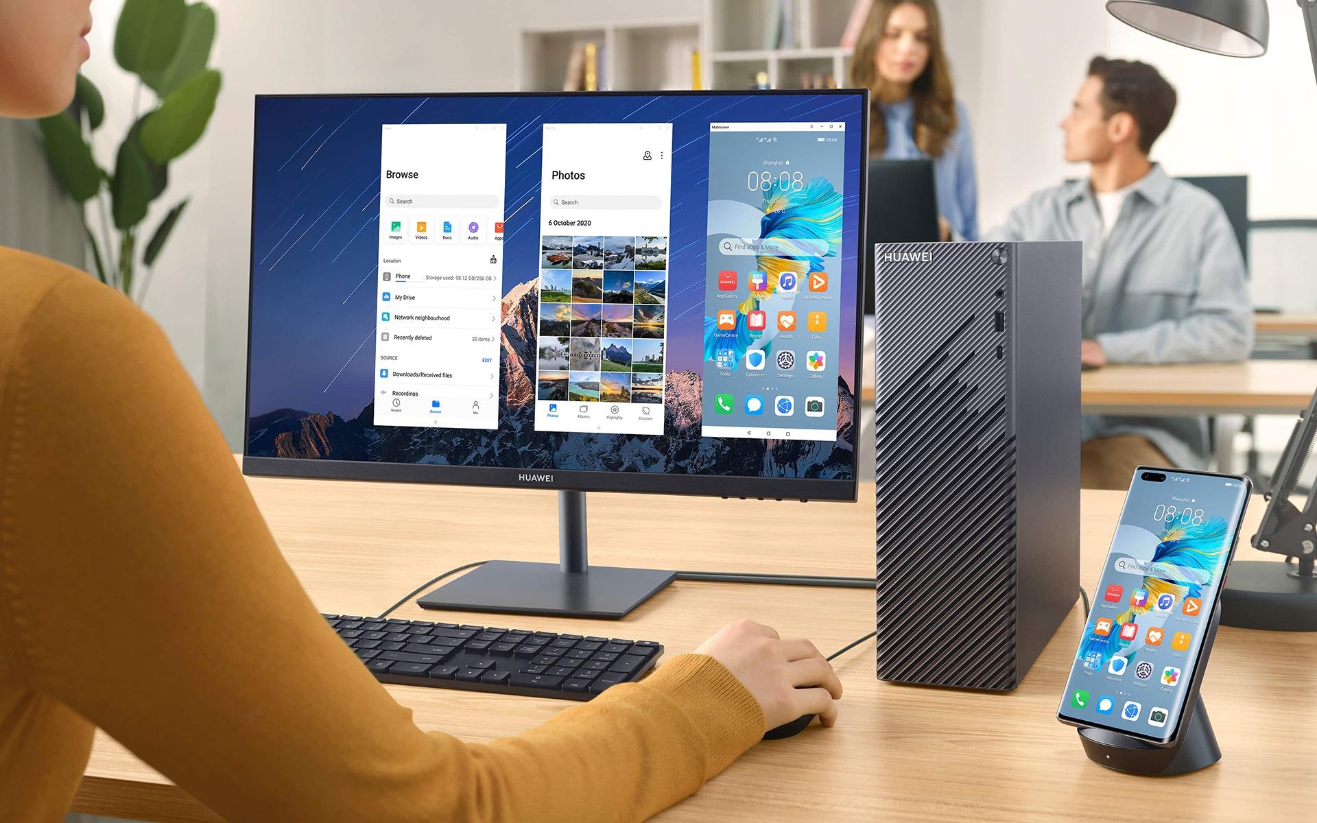 стартира първоначално в Китай продажбите на персоналния десктоп компютър Huawei